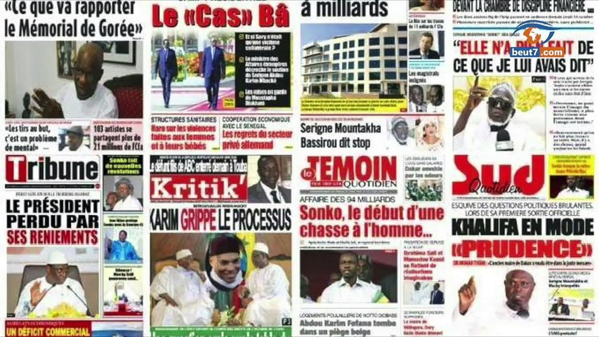 Faux billets : Thione Seck devant le juge. Taïb Socé démissionne du Gfm Diop Iseg reste en prison