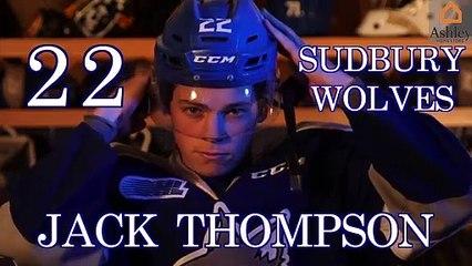 Ashley HomeStore OHL Highlight Reel | Jack Thompson | Sudbury Wolves | 2019 – 2020 Season