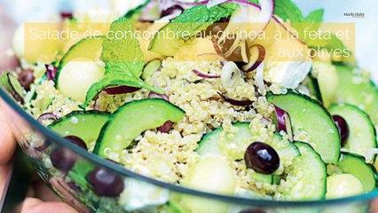 Recettes salades d'été