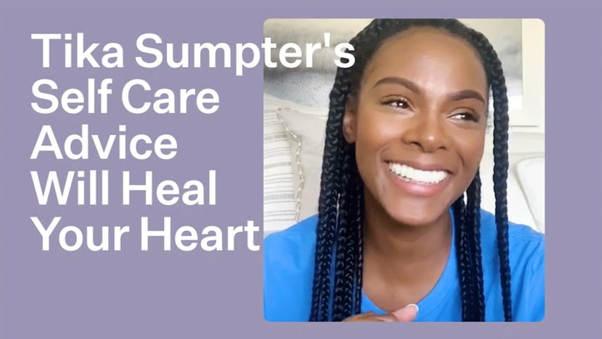 Tika Sumpter's Self-Care Advice Would Do Rainbow Proud | Bustle