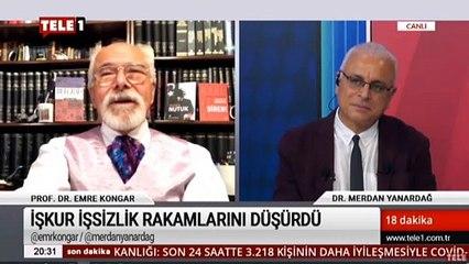 Prof. Dr. Emre Kongar: Gazeteci haberi yazmasa casusluktan içeride, yazsa haberi yazdığı için içeride!