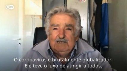 """Mujica: """"Covid-19 atinge a todos, independentemente da ideologia"""""""
