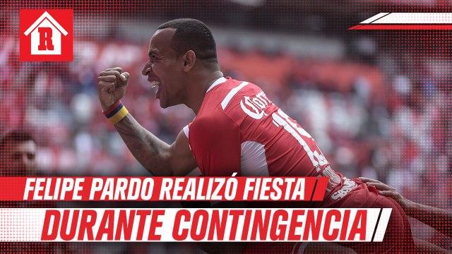 Felipe Pardo organizó fiesta en plena contingencia