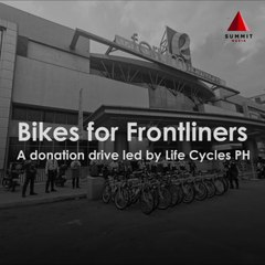 Life Cycles Is Helping Health Workers and Frontliners Through Bike Donations
