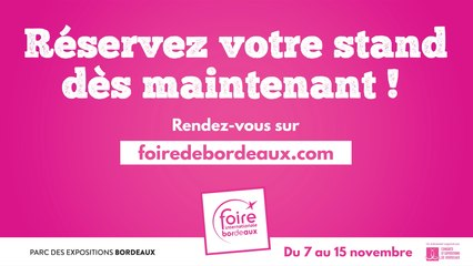 Nous vous attendons pour le plus grand rendez-vous commercial de Nouvelle-Aquitaine !