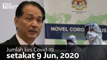Jumlah kes Covid-19 setakat 10 Jun, 2020