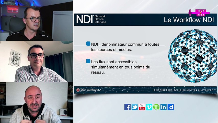 Tech'N Prod #22 Le ndi et newtek