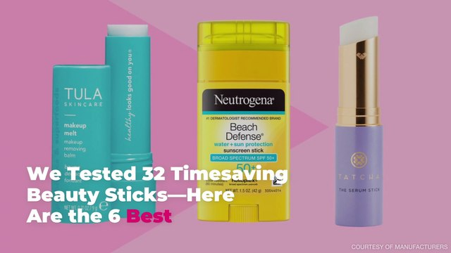 We Tested 32 Timesaving Beauty Sticks—Here Are the 6 Best