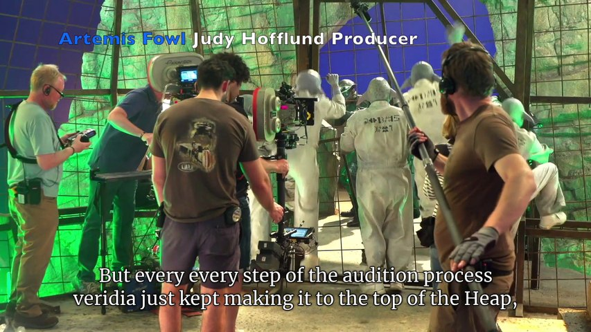 Artemis Fowl  Chat with Producer & Director (Captioned by Zubtitle)