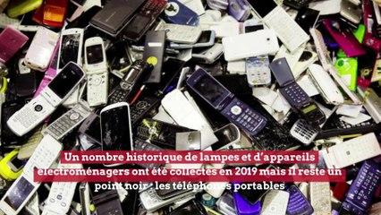 Environnement: plus de 3 millions de GSM dans les tiroirs