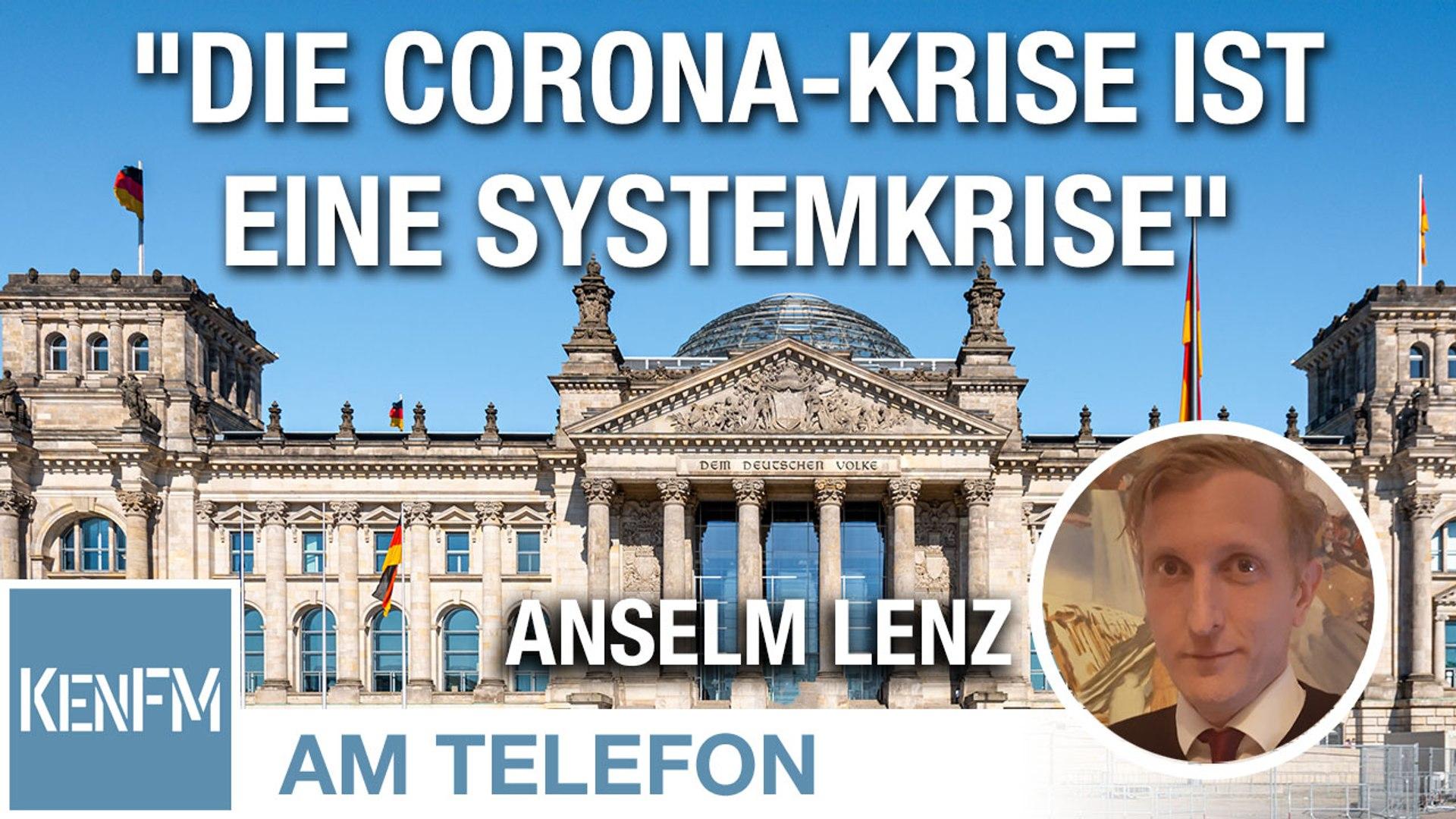 """Am Telefon zu """"Die Corona-Krise ist eine Systemkrise"""": Anselm Lenz"""