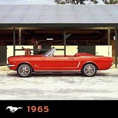 El Ford Mustang y el color naranja