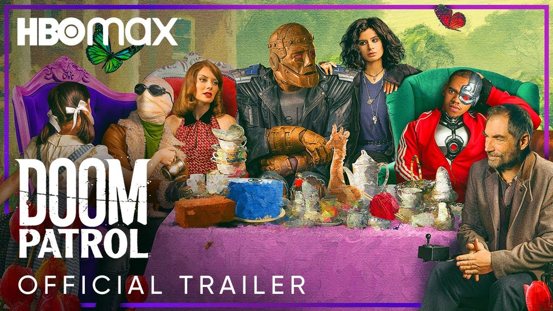Doom Patrol Season 2 Official Trailer Dc Universe Tv Series Video Dailymotion