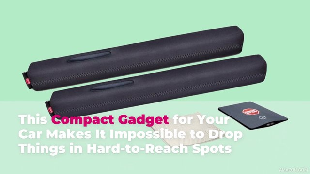 This Compact Gadget for Your Car Makes It Impossible to Drop Things in Hard-to-Reach Spots