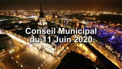 Conseil Municipal de la Ville de Dunkerque du Jeudi 11 juin 2020 (Replay)