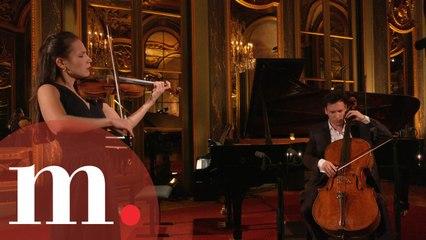 Raphaëlle & Edgar Moreau - Handel / Halvorsen: Passacaglia to an empty concert hall