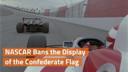 NASCAR Removes Confederate Flag