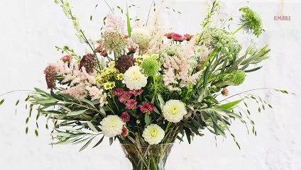 Cómo hacer un centro de flores