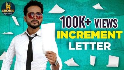 Increment Letter | Abdul Razzak | Thakur Honey Singh | Latest Comedy Videos | Golden Hyderabadiz