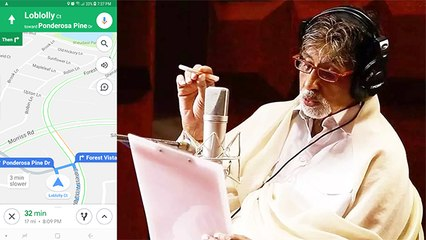 Amitabh Bachchan's Voice Will Soon Navigate You On Google Maps?