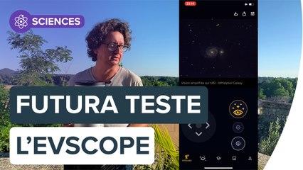 Test de l'eVscope, un smart télescope pour observer l'univers | Futura