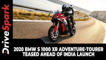 2020 BMW S 1000 XR Adventure-Tourer Teased Ahead Of India Launch: Here Are The Details
