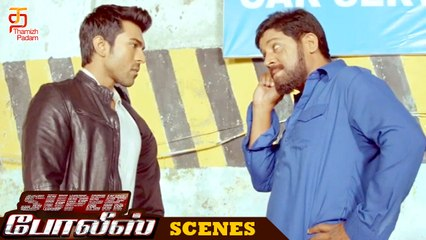 Super Police Tamil Movie Scenes | Sher Khan comes to know about ACP Vijay Khanna | Ram Charan