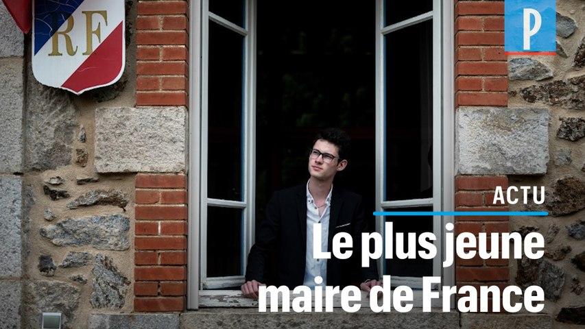 En Ardèche, le plus jeune maire de France élu à 18 ans