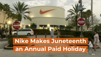 Nike Makes Juneteenth A Holiday