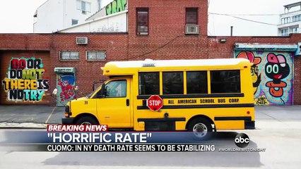 US death toll surpasses 20,000 amid