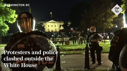 George Floyd protests - Unrest escalates in demonstrations in m