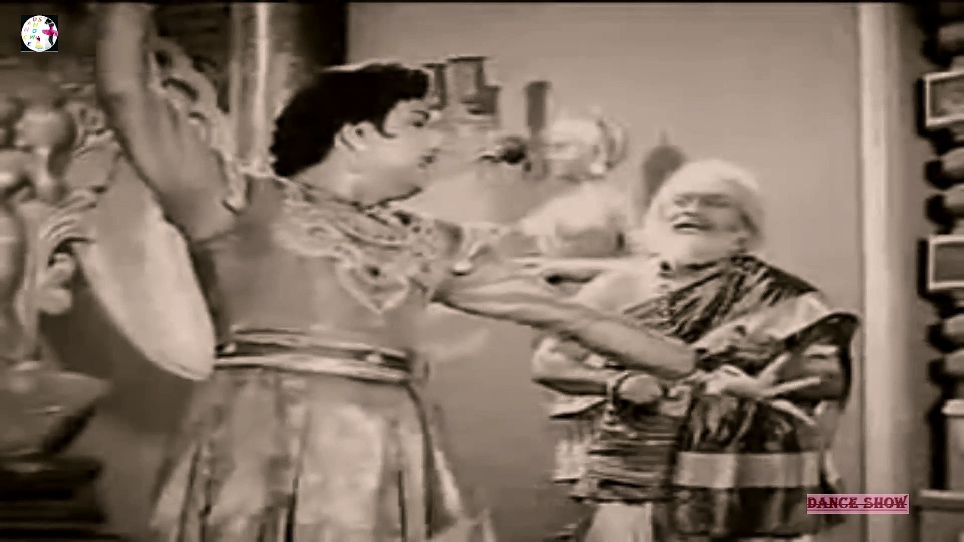 Old Indian Classical Dance Double