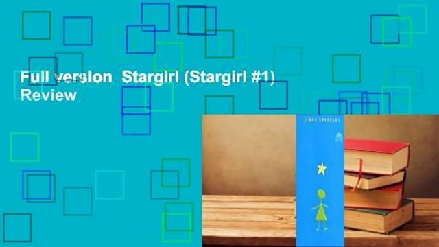 Full version  Stargirl (Stargirl #1)  Review