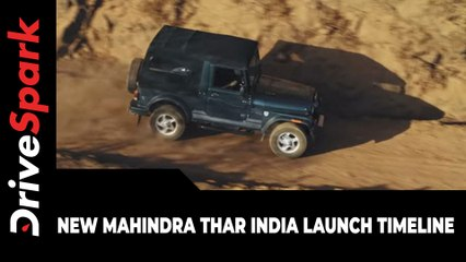 New Mahindra Thar India Launch Timeline | Specs, Features & Other Updates Explained