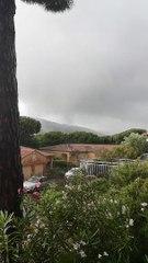 Une tornade se forme à Sainte-Maxime