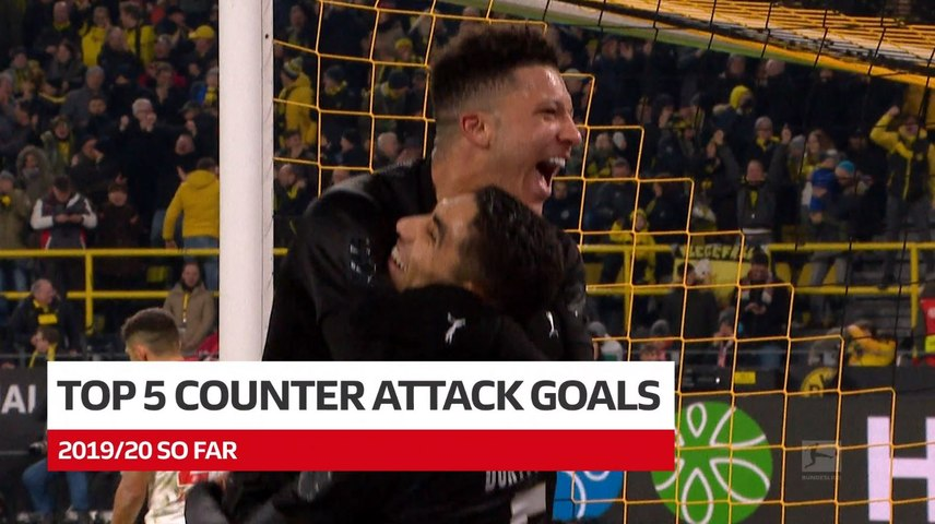 Sancho, Werner and Co. | Top 5 Counter-Attack Goals 2019/20 so far