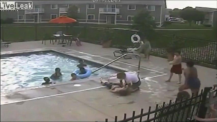 Héros du jour, elle saute de son fauteuil roulant pour sauver un enfant tombé à l'eau