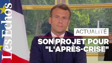 Déconfinement, économie, racisme : ce qu'il faut retenir de l'allocution d'Emmanuel Macron