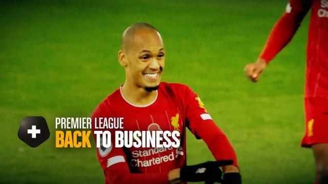 Premier League : back to business !