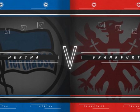 31e j. - Francfort étrille le Hertha Berlin