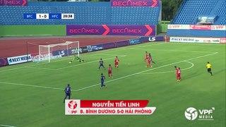 Top 5 ban thang Vong 4 LS V League 1 2020 Vinh dan
