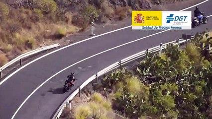 VÍDEO: La Guardia Civil agradece a estos motoristas su comportamiento en carretera