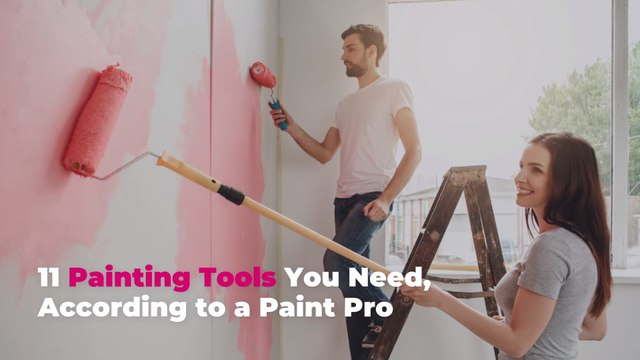 11 Painting Tools You Need (and 5 You Don't), According to a Paint Pro