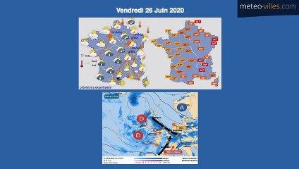 Bulletin Météo du 24 06 2020