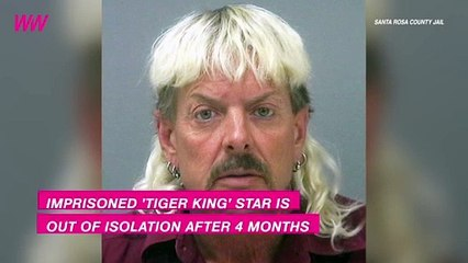 Joe Exotic Has Been Moved Out of Isolation After 4 Months