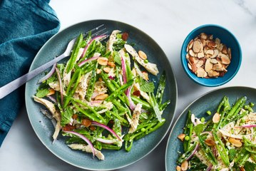 This Summery Snap Pea and Chicken Salad Is Ready in Just Two Steps