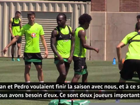 """31e j. - Lampard : """"Willian et Pedro voulaient vraiment finir la saison avec nous"""""""
