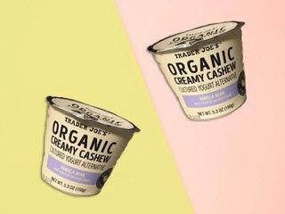 Trader Joe's Just Debuted a New, 140-Calorie Cashew Yogurt