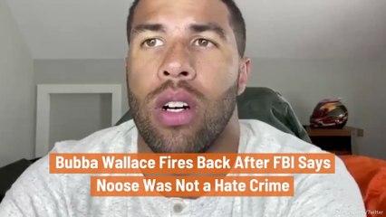 Bubba Wallace Hits Back At FBI