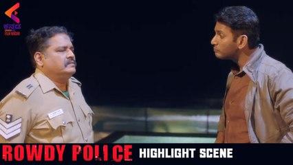 ROWDY POLICE Highlight Scene   Latest Kannada Movie   Vishal   Raashi Khanna   Latest Dubbed Movies